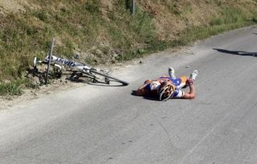 Том-Йелте Слегтер после аварии