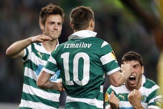 Измаилов забил пять мячей в чемпионате Португалии