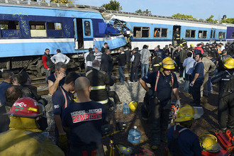 В Буэнос-Айресе столкнулись два пассажирских поезда, трое погибли