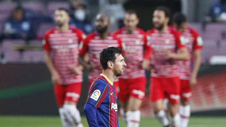 Лионель Месси в матче «Барселона» — «Гранада»