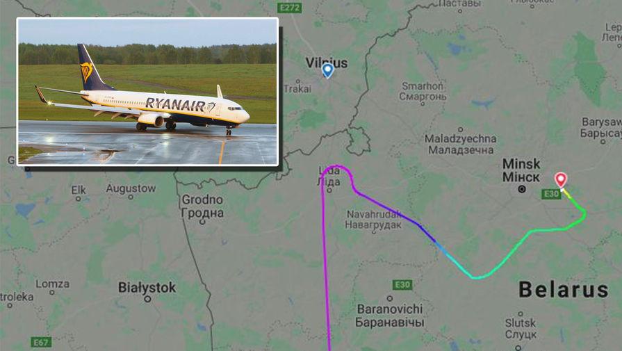 «Поведение пилота удивляет»: мог ли самолет Ryanair долететь до Вильнюса