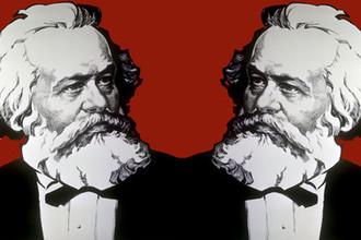 Портрет Карла Маркса, коллаж «Газеты.Ru»