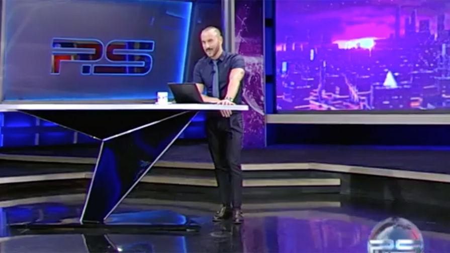 Грузины вышли протестовать из-за атаки на Путина в эфире ТВ