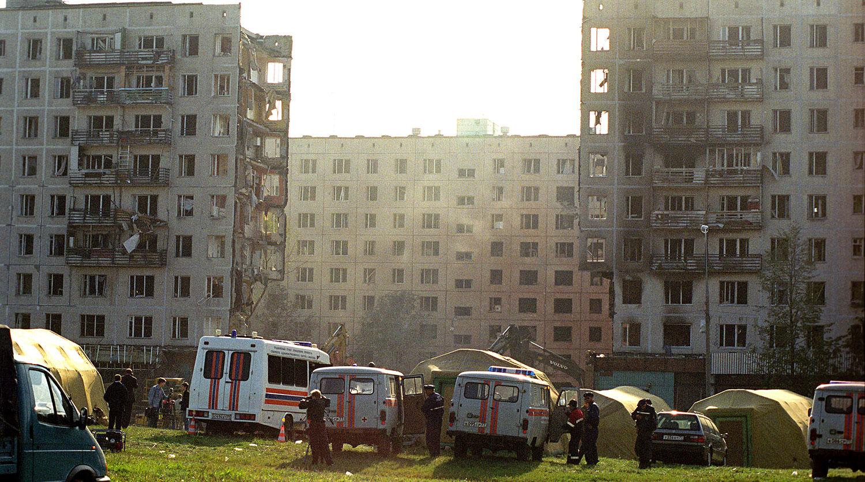 На месте трагедии, 9 сентября 1999 года, 9 сентября 1999 года