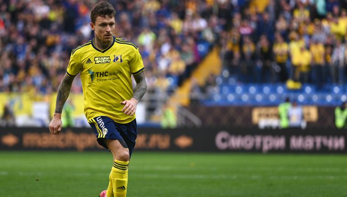 Павел Мамаев в составе «Ростова»