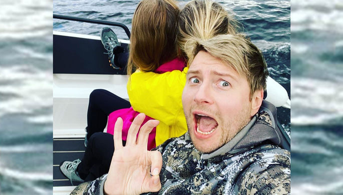 «Когда успел?»: Басков опубликовал фото с женщиной и ребенком