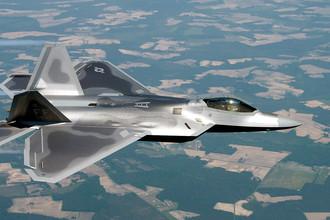 Многоцелевой истребитель пятого поколения Lockheed/Boeing F-22 Raptor «Рэптор» (США)
