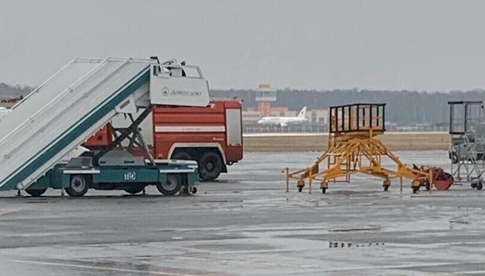 SSJ-100 «ИрАэро» в аэропорту «Домодедово», 16 января 2020 год
