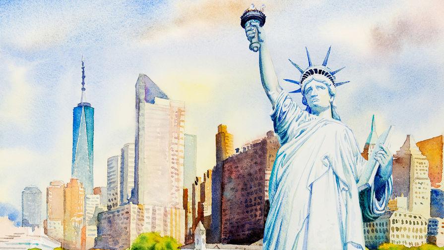 Баба-яга против статуи Свободы