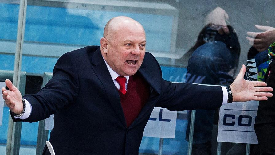 Хоккейный тренер Федор Канарейкин