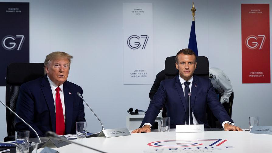 The Independent: Макрон дал дипломатический мастер-класс на G7 и затмил всех
