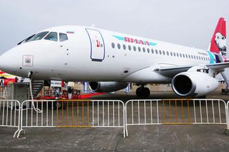 Опасный Superjet: у «Сухого» нашли уязвимость