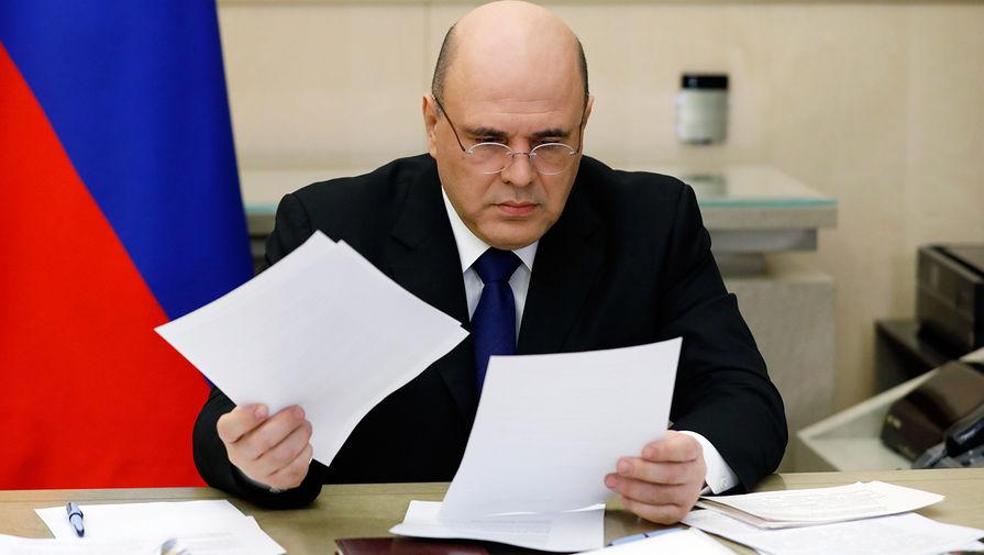 Председатель правительства РФ Михаил Мишустин проводит заседание президиума Координационного совета при правительстве РФ по борьбе с распространением новой коронавирусной инфекции на территории России, 22 апреля 2020 года