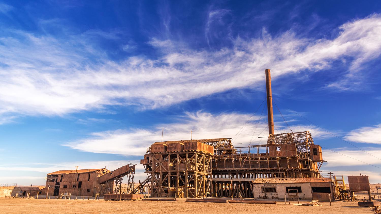 Производства селитры Хамберстон и Санта-Лаура, Чили