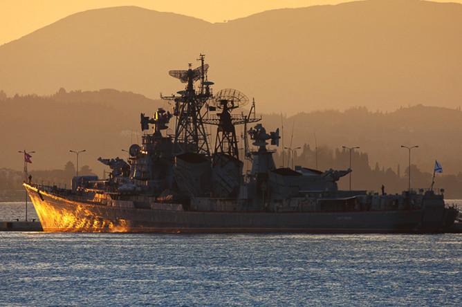 Российский сторожевой корабль «Сметливый»