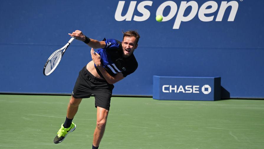 Российский теннисист Даниил Медведев на US Open
