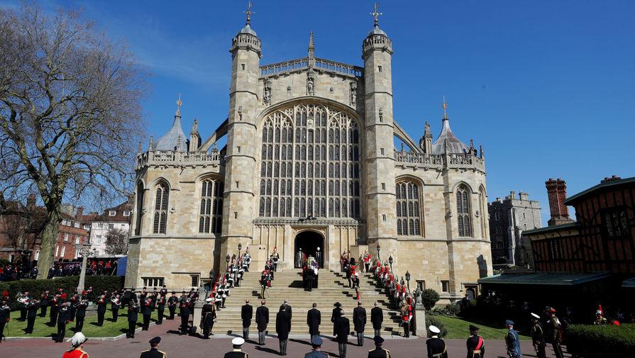 Похороны супруга королевы Великобритании Елизаветы II герцога Эдинбургского Филиппа в Виндзорском замке, 17 апреля 2021 года