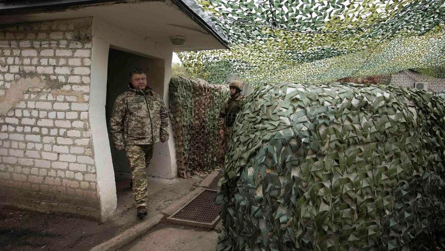 Армия презирает Порошенко