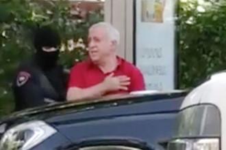 Александр Саргсян во время задержания (кадр из видео)
