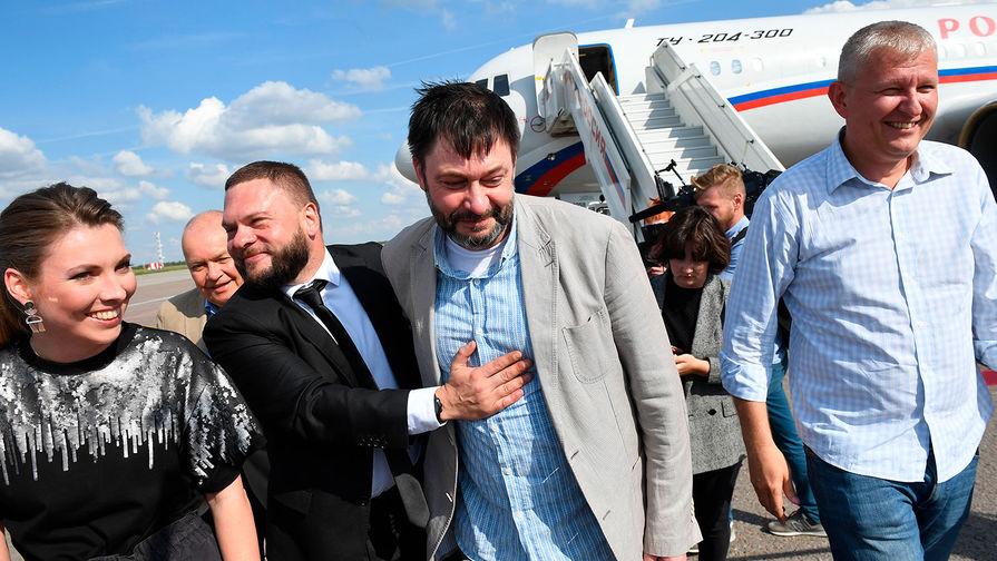 Вышинский рассказал о приехавших в Россию по обмену с Украиной заключенных