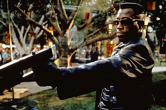 Кадр из фильма «Блэйд» (1998)