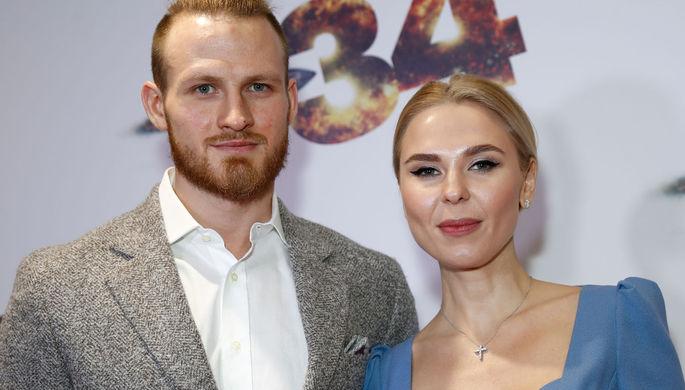 Певица Пелагея с бывшим мужем хоккеистом Иваном Телегиным