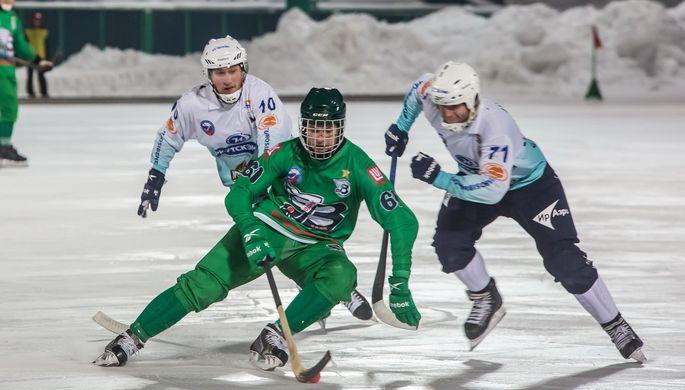 Эпизод матча «Водник» — «Байкал-Энергия»