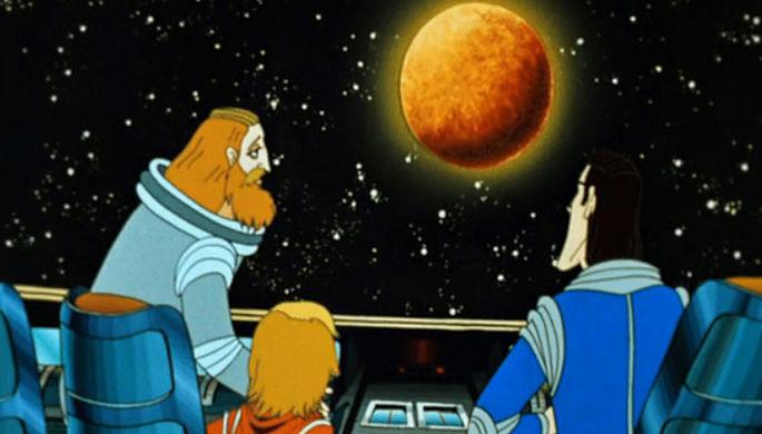Кадр из мультфильма «Тайна третьей планеты» (1981)