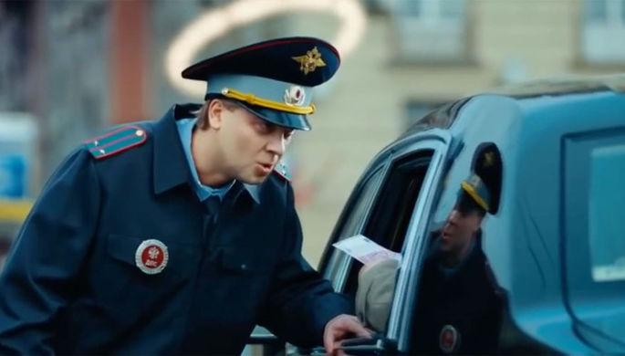 Сергей Светлаков в роли лейтенанта ГИБДД Николая Лаптева