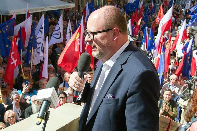 Мэр польского города Гданьск Павел Адамович, апрель 2018 года
