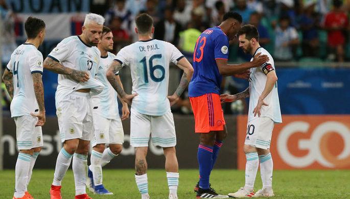 Сборная Аргентины проиграла Колумбии в стартовом матче на Кубке Америки — 2019
