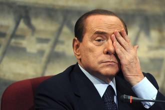 Суд Милана отправил Сильвио Берлускони в тюрьму на год