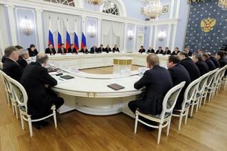 Дмитрий Медведев встретился с членами РСПП