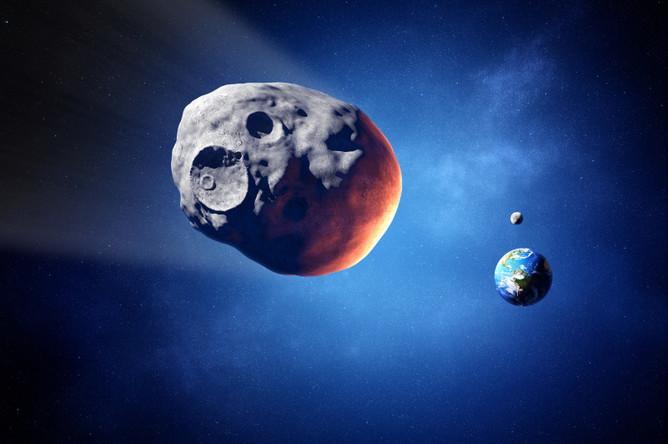 Российские астрономы обнаружили опасный астероид