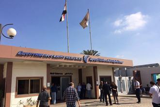 Офис компании EgyptAir в международном аэропорту Каира