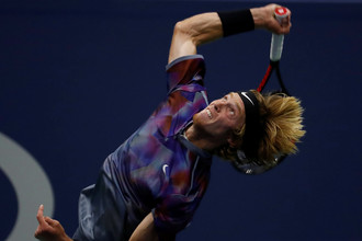 Российский герой US Open Андрей Рублев проиграл свой поединок первого дня в пяти сетах