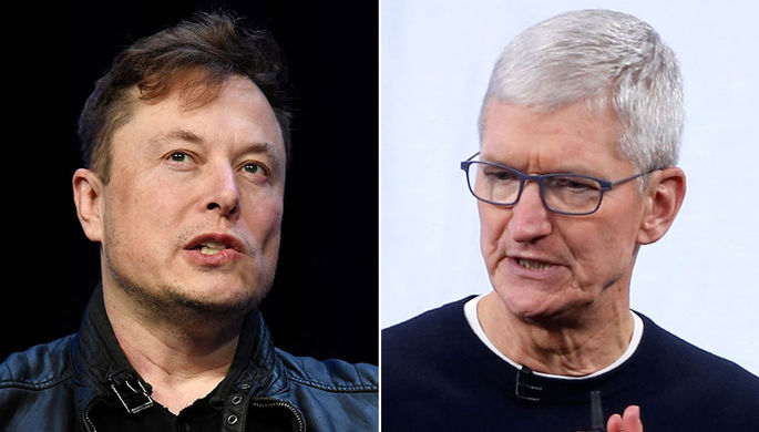 «Тим Кук отказался от встречи»: Маск пытался продать Tesla Apple