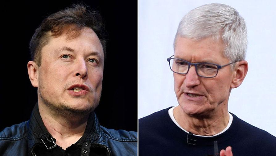 Илон Маск и Тим Кук попали в топ-100 самых влиятельных людей по версии Time