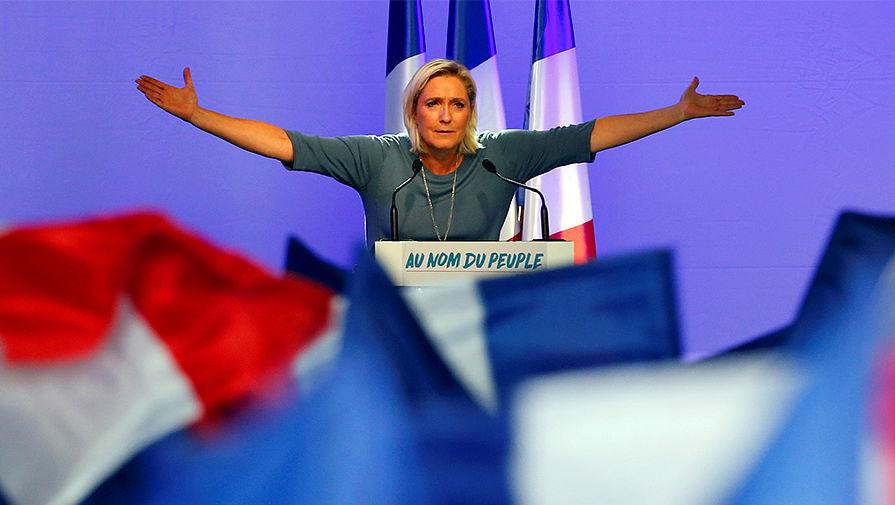 """Лидеру """"Национального объединения"""" Франции Марин Ле Пен - 50"""