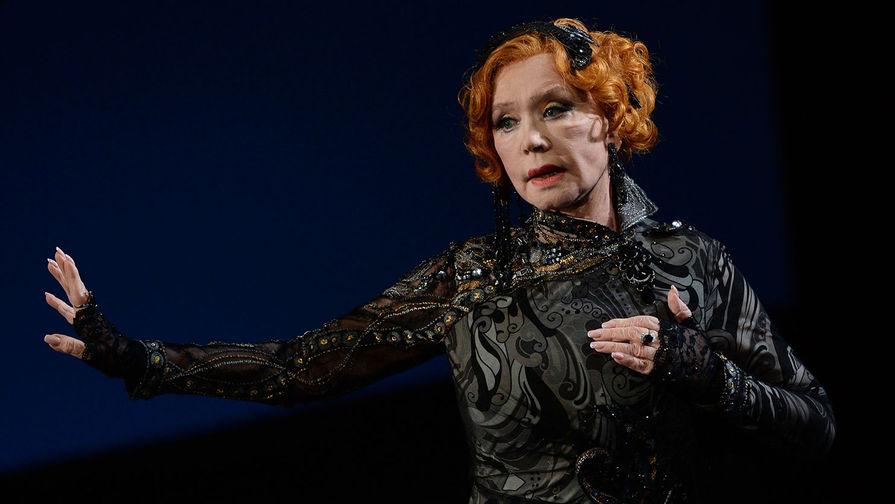 В Театре имени Пушкина рассказали о самочувствии госпитализированной Алентовой