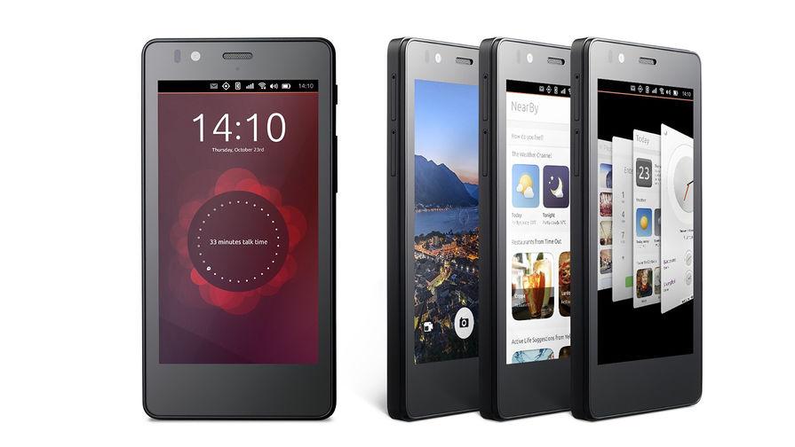 Превью телефона на Ubuntu OS, версия для разработчиков