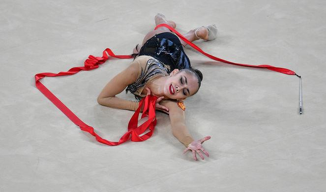Российская гимнастка, олимпийская чемпионка Маргарита Мамун