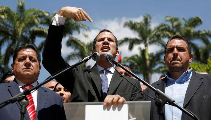Страны ЕС признали Гуайдо законным временным президентом Венесуэлы