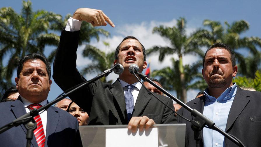 Эстония признала Гуайдо президентом Венесуэлы