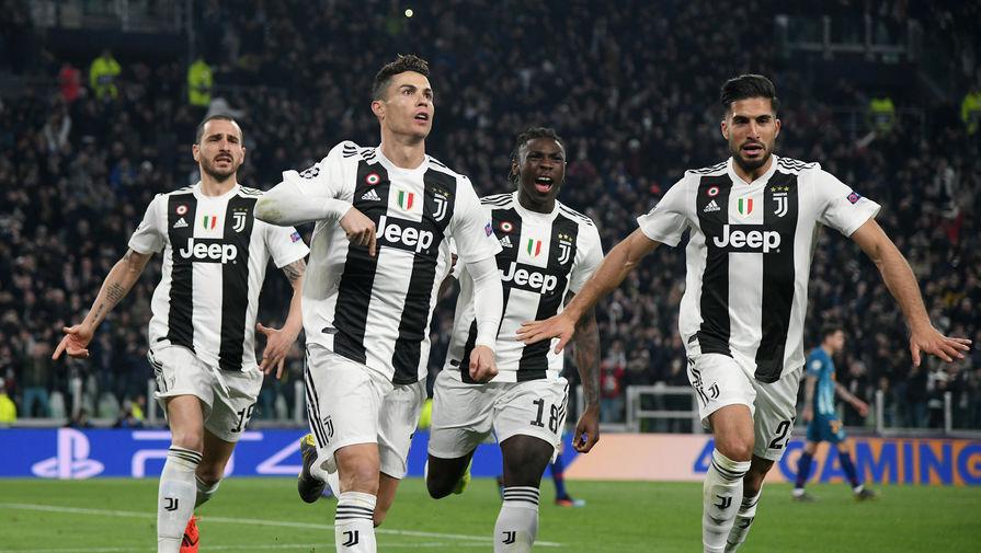 0cb879ae Хет-трик в ответной встрече оформил форвард «Старой синьоры» Криштиану  Роналду, сделав общий счет 3:2 в пользу итальянского клуба.