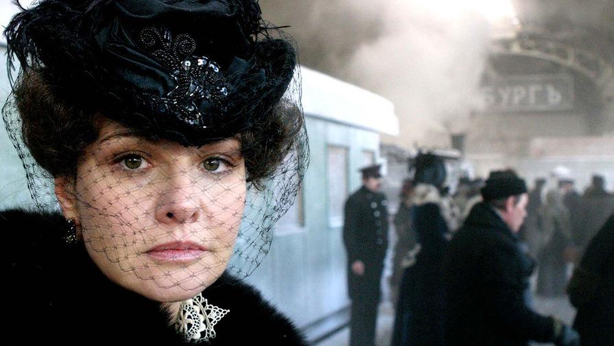 Татьяна Друбич в сцене из фильма «Анна Каренина», 2009 год