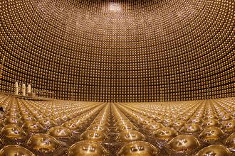 Детектор нейтрино на установке Super-Kamiokande