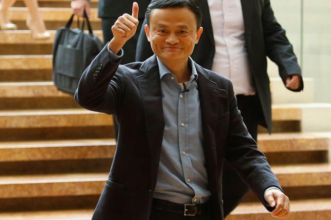 10. Глава Alibaba Group Джек Ма