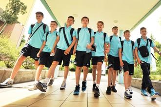 Российская команда, представленная «Зенитом»