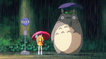 Кадр из мультфильма Хаяо Миядзаки «Мой сосед Тоторо» (1988)